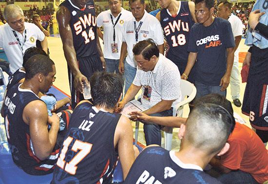 CESAFI game4 SWU coaching_Tangcawan10-17-14