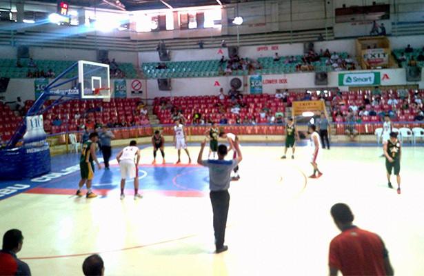 CEBU. The University of San Jose-Recoletos Baby Jaguars defeated the University of San Carlos Baby Warriors, 62-58, on Sunday, August 14, at the New Cebu Coliseum in Cebu City. (Nicko Tubo/Sunnex)